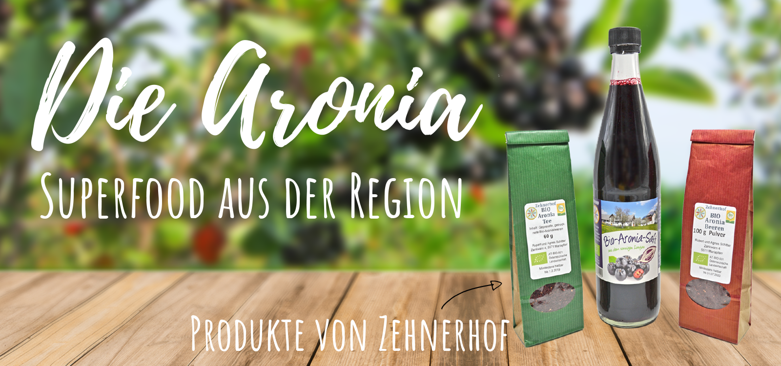 Aronia - Superfood aus der Region